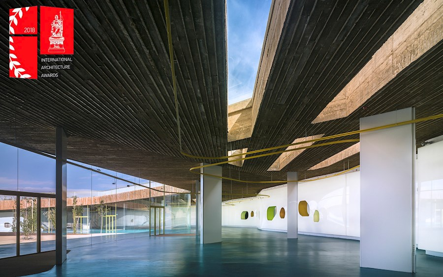 pancorbo arquitectos win 2018 international architecture award