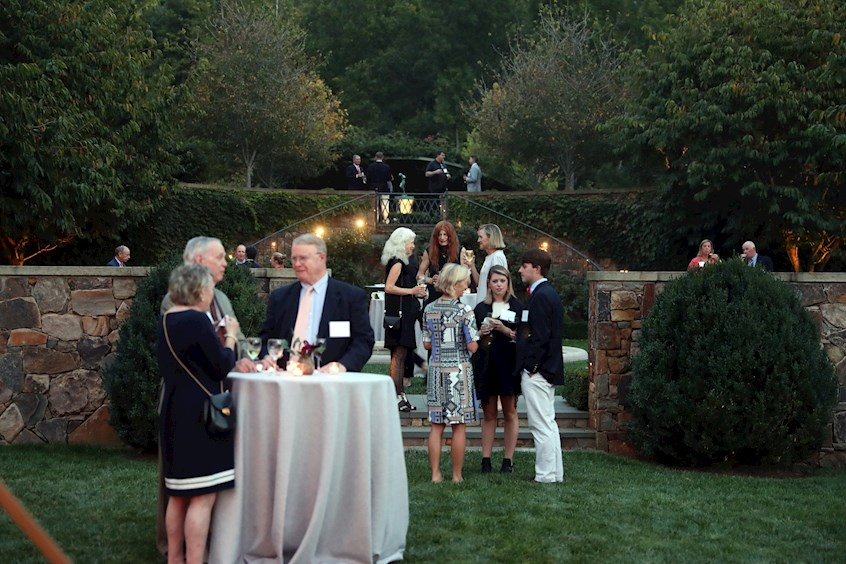 29th Annual A-School Dean's Forum Dinner at V House - the home of Bruce and Jim (Col '68) Murray