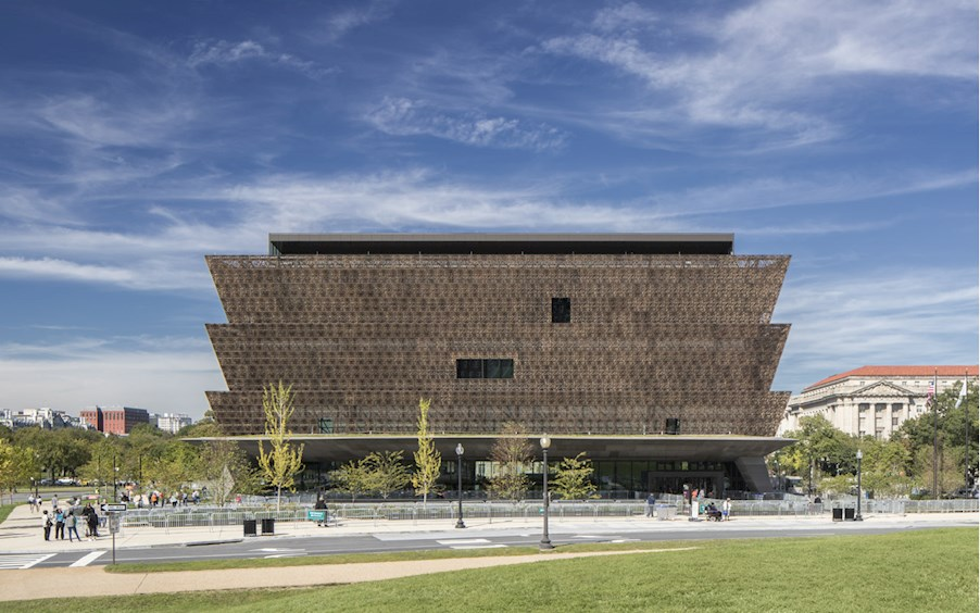 The Smithsonian National Museum of African American History and Culture, Photo by Brad Feinknopf