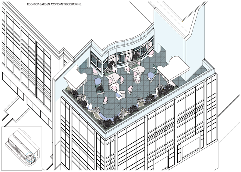ECCCC Fourth Floor Waiting Redesigned by Fenstermacher + Murphy