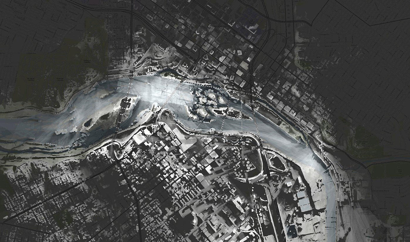 Led by Professor Guoping Huang, UVA School of Architecture examines how Geodesign and GIS technologies can impact urban renewal through innovative visualization techniques.
